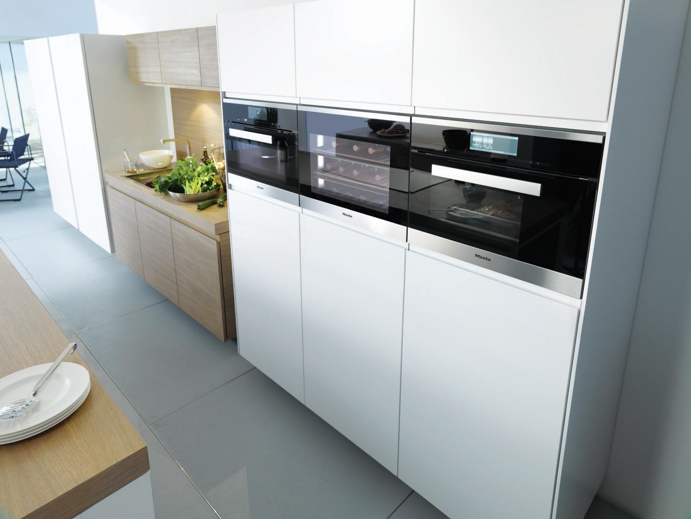miele pr sente une cave vin compacte. Black Bedroom Furniture Sets. Home Design Ideas