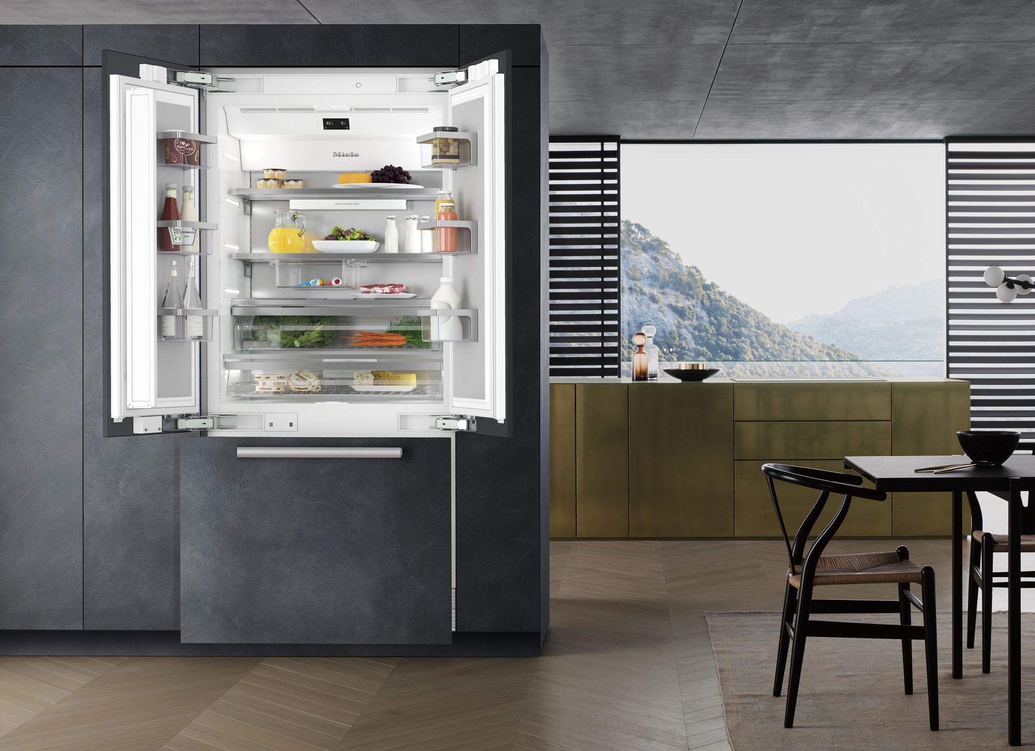 Miele Master Cool, Design et technologie de pointe en grand format